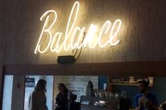 Balance, вид вблизи сбоку