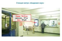 """Станция метро """"Академия наук"""""""