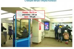 "Станция метро ""Якуба Коласа"""