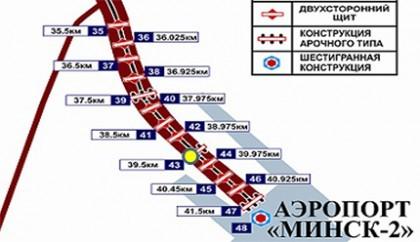 Схема размещения ЩРК №43 (39,5 км)