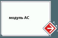 Световой указатель модуль AC