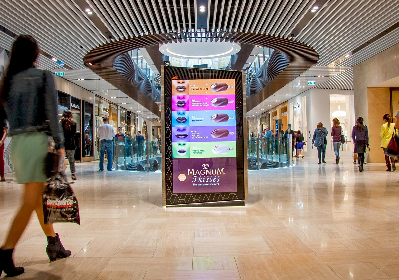 an analysis of different types of people in shopping centers